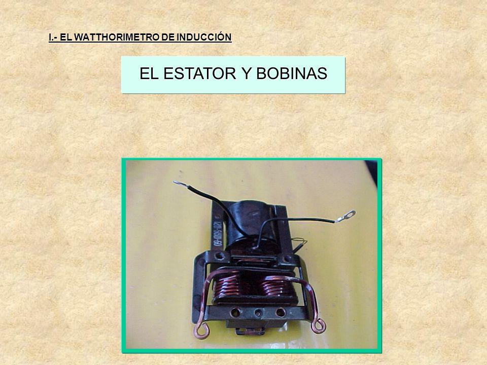LA BOBINA DE CORRIENTE LA BOBINA DE CORRIENTE: Es construida con pocas vueltas de alambre de calibre adecuado al tipo de medidor y es conectada en ser