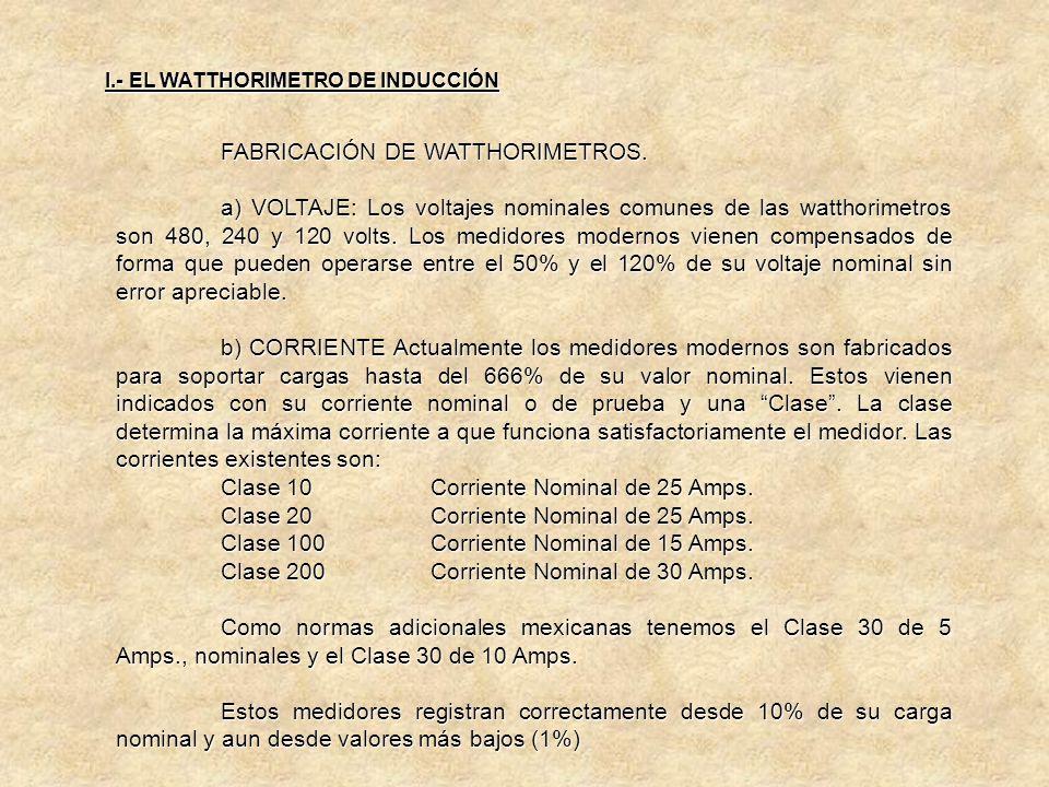 INTERDEPENDENCIA DE LOS AJUSTES. Otra característica del medidor polifásico es que cualquier cambio en el ajuste de CA ó CB afecta a todos los estator