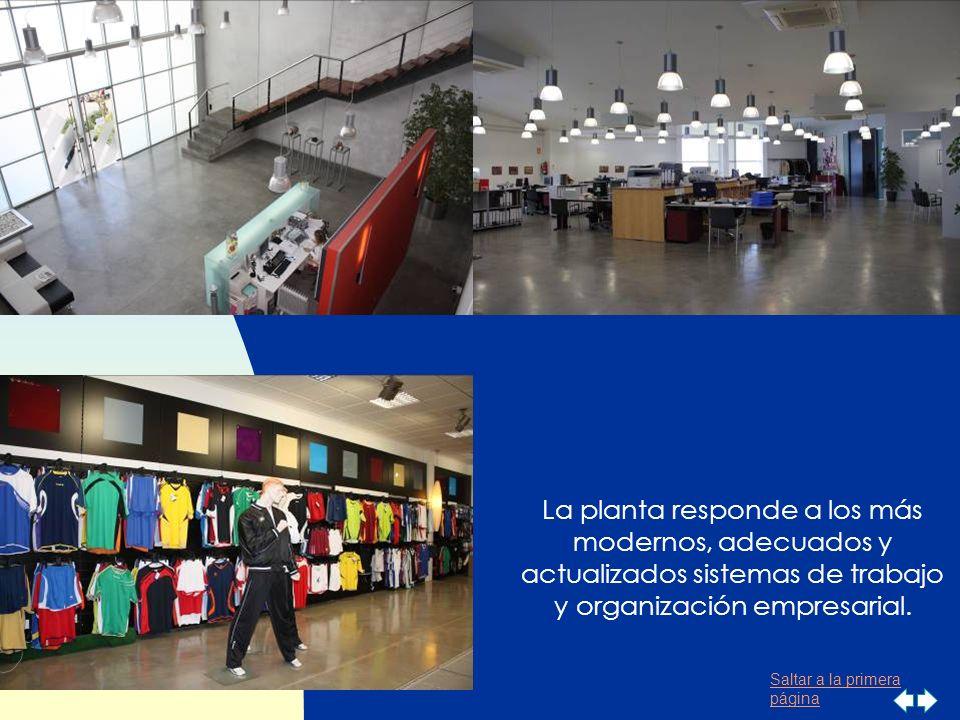 Saltar a la primera página Instalaciones Luanvi se encuentra ubicada en unas instalaciones de 8.000 metros cuadrados en el Parque Tecnológico de Pater