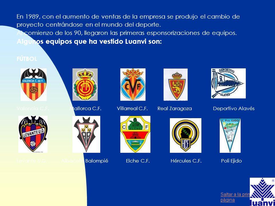 Saltar a la primera página Presencia n Aún siendo una empresa nacional valenciana, se ha tenido vocación internacional.