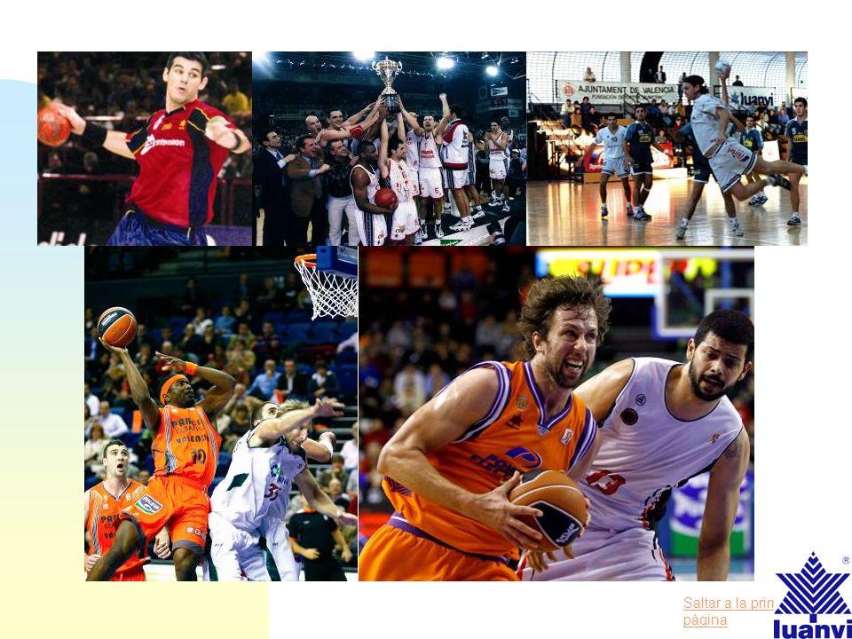 Saltar a la primera página Power Electronics Valencia Basket Lagun Aro GBC BALONMANO Club Balonmano Granollers Club Balonmano Ademar León Selección Na