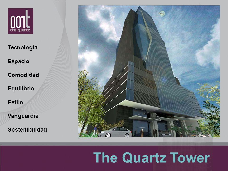 Tecnología Espacio Comodidad Equilibrio Estilo Vanguardia Sostenibilidad The Quartz Tower