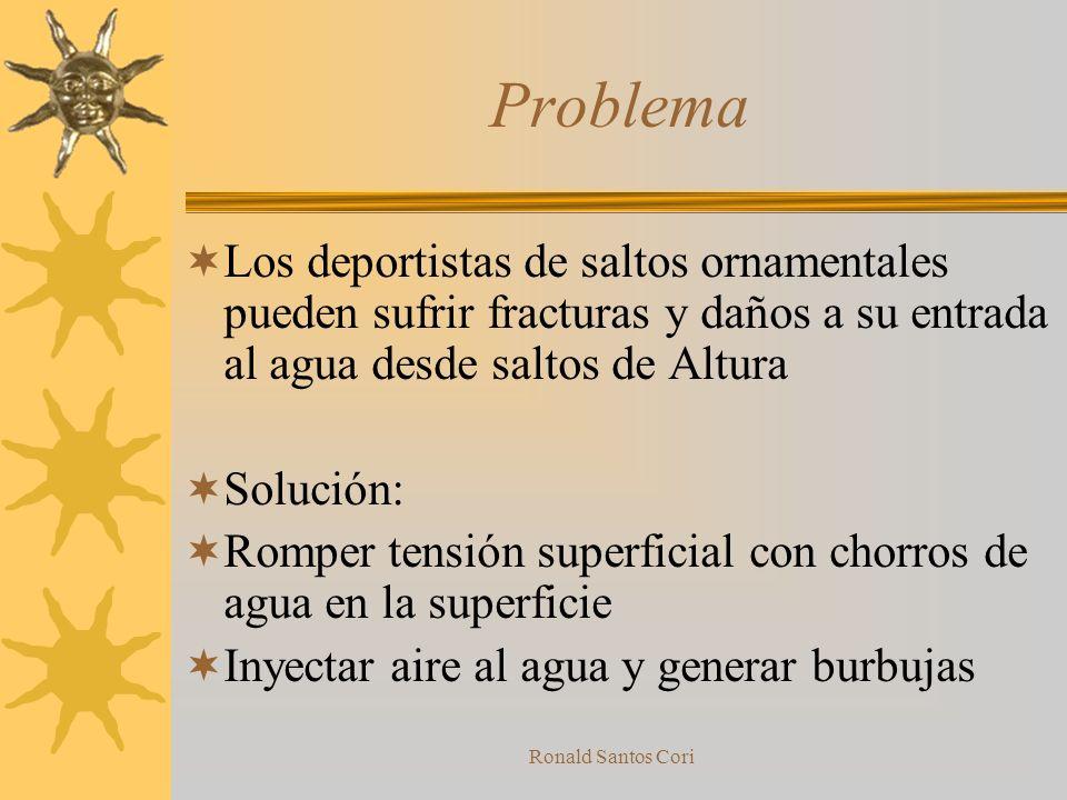 Ronald Santos Cori Historia de intentos de solución anteriores Intentos previos de resolución del problema ¿Existen otros sistemas con problemas similares?