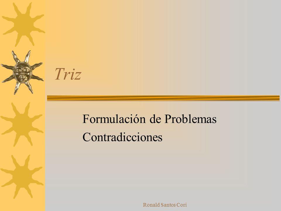 Ronald Santos Cori Historia de intentos de solución anteriores Intentos previos de resolución del problema ¿Existen otros sistemas con problemas simil
