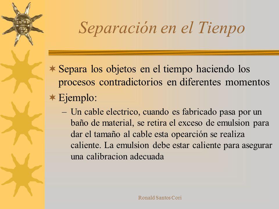 Ronald Santos Cori Solución El Objeto es calentado a Altas temperaturas antes de ser sumergido en una solución fria. En este caso, la solución salina