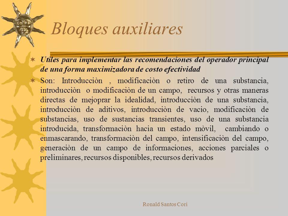 Ronald Santos Cori Operadores de Bolques Auxiliares Lineas de bloques