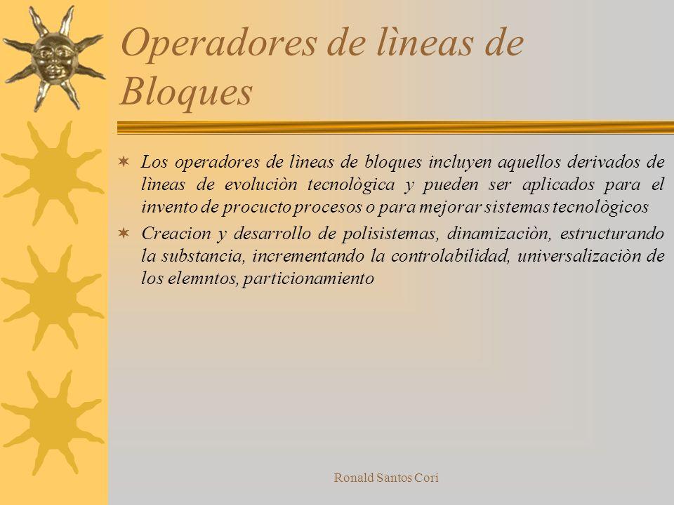 Ronald Santos Cori Bloques auxiliares Utiles para implementar las recomendaciones del operador principal de una forma maximizadora de costo efectivida
