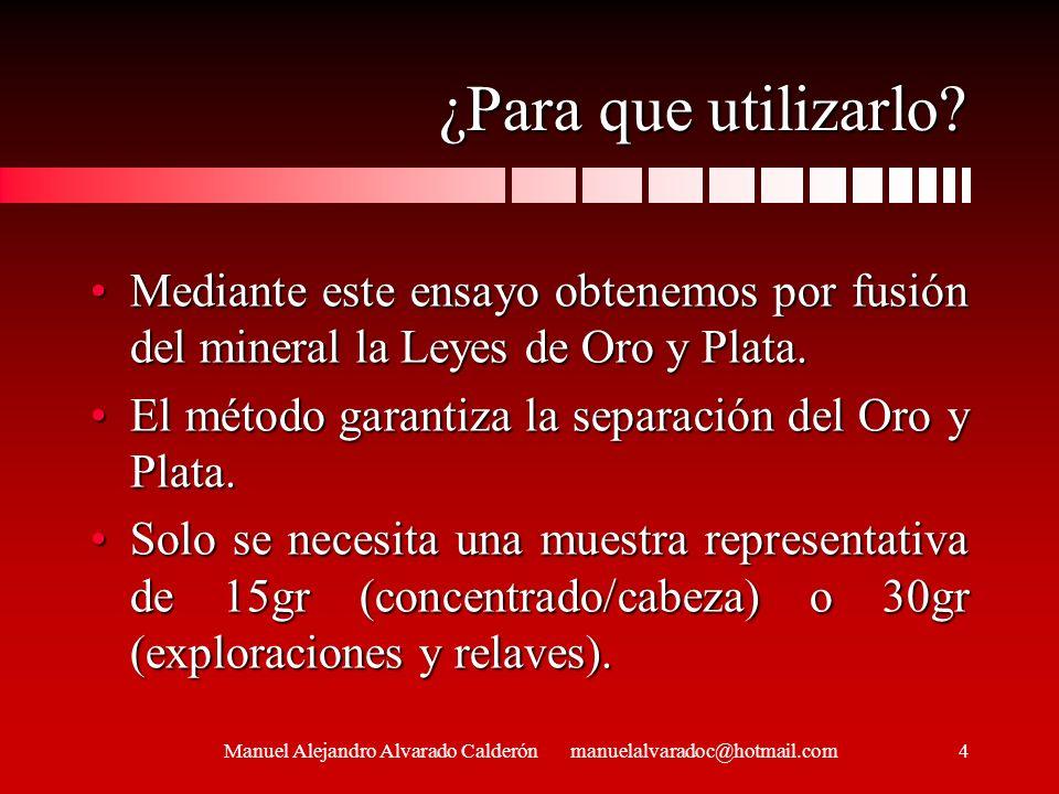 Manuel Alejandro Alvarado Calderón manuelalvaradoc@hotmail.com25