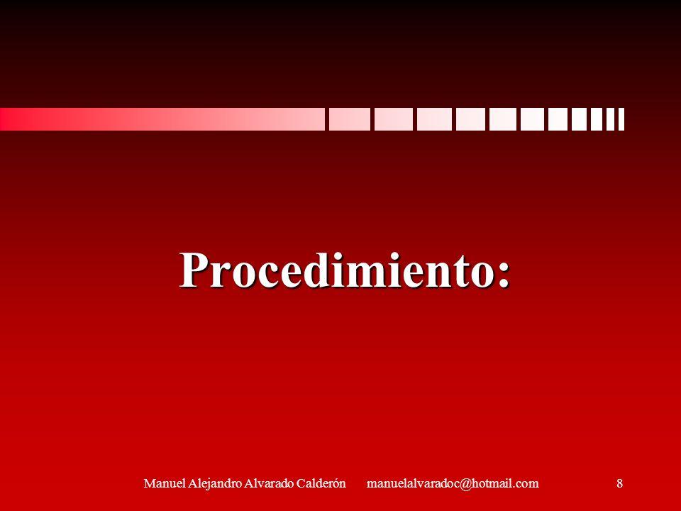 Procedimiento: 8