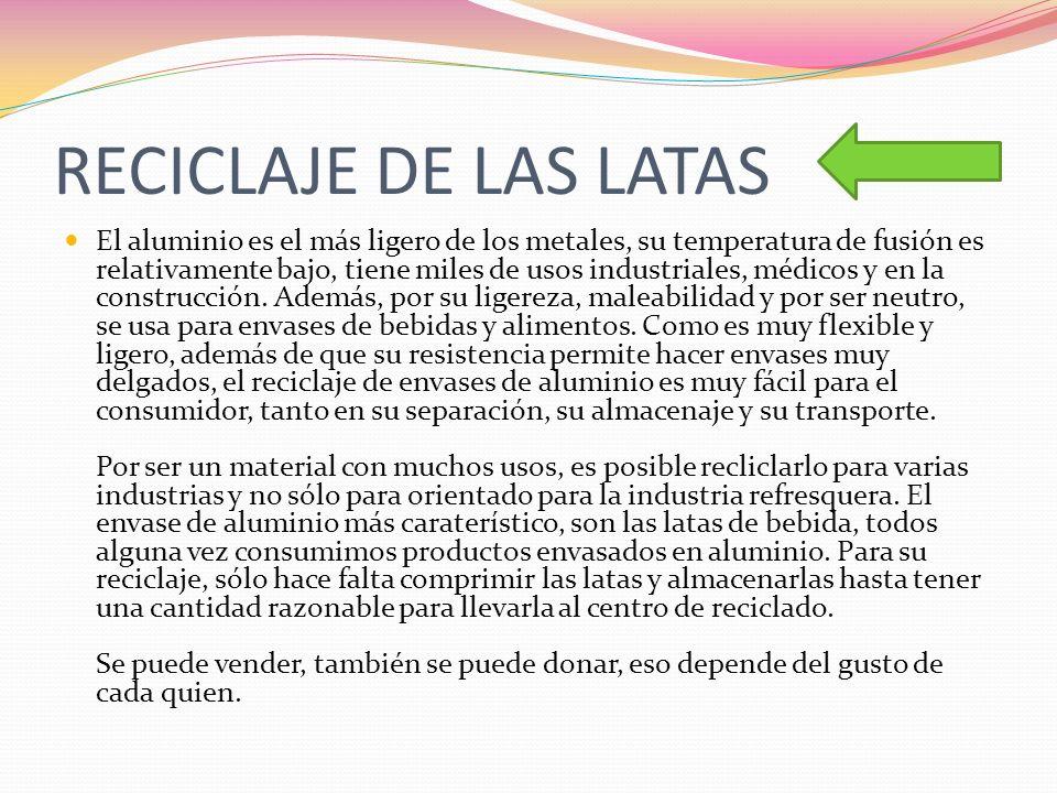 reciclaje Esta cantidad supone más de seis millones de latas en toda España con las que podríamos llenar 17.500 camioes de 50 toneladas.