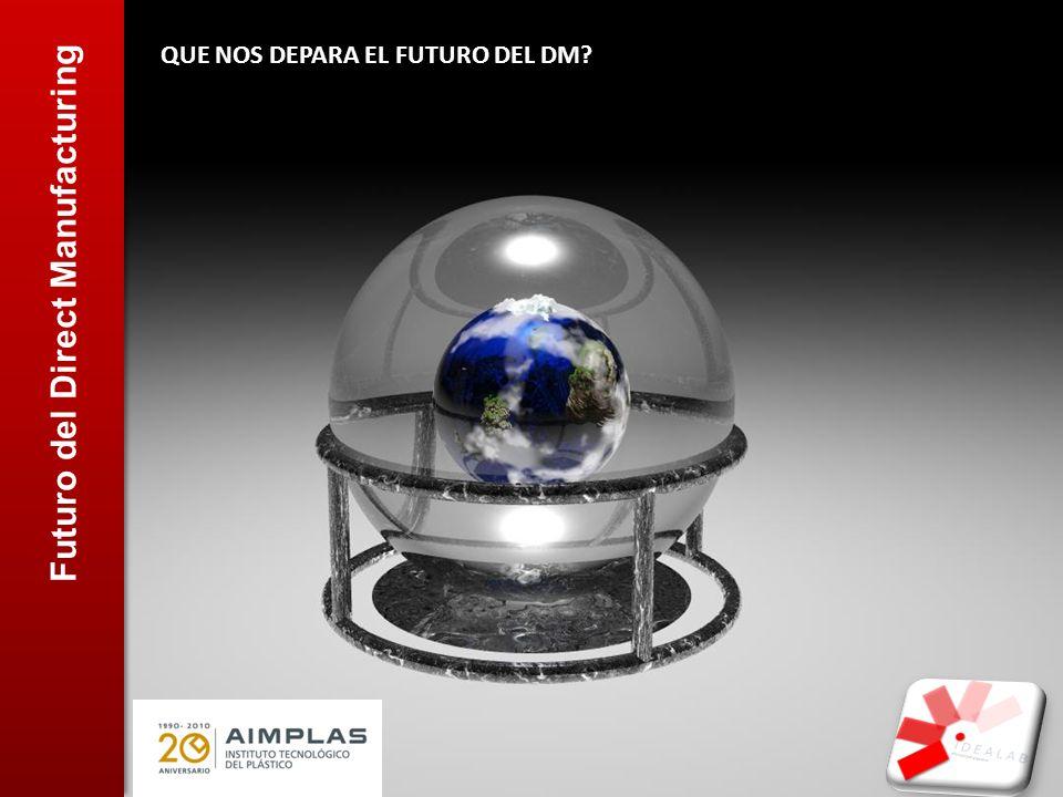 Futuro del Direct Manufacturing QUE NOS DEPARA EL FUTURO DEL DM?