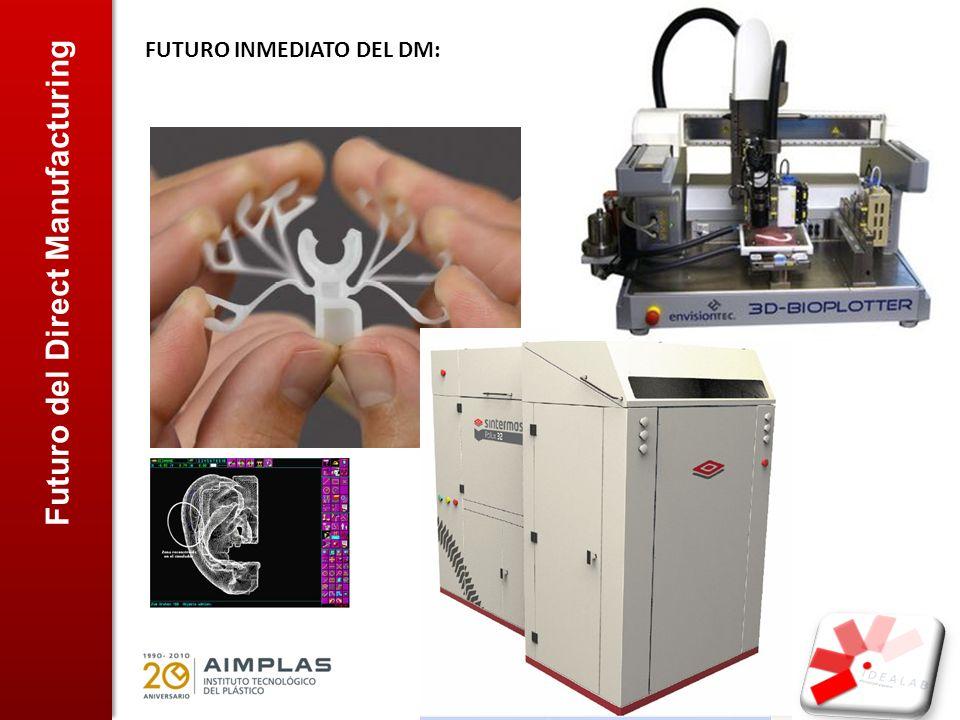 Futuro del Direct Manufacturing FUTURO INMEDIATO DEL DM: