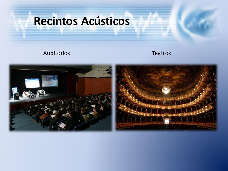 Recintos Acústicos AuditoriosTeatros