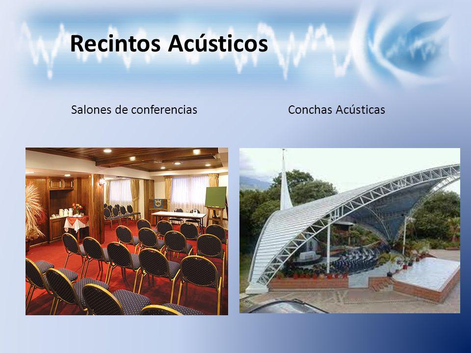 Recintos Acústicos Salones de conferenciasConchas Acústicas