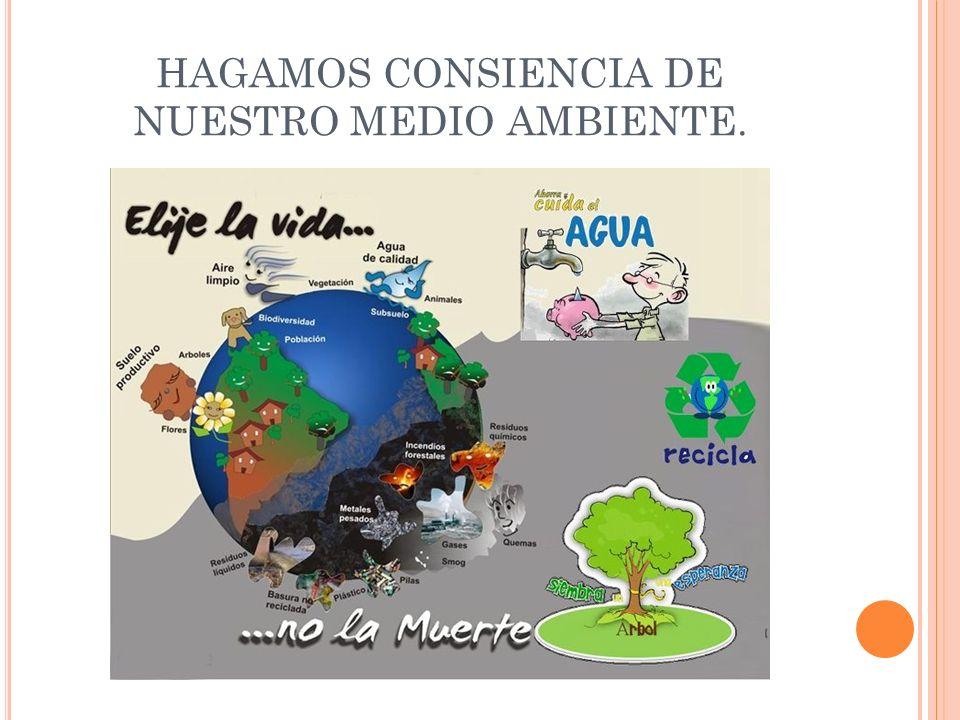 S IENTE Y D ISEÑA Haz reforestar, manualidades con material reciclado, labor de limpieza en la colonia ahorro del agua, mejorando la tienda escolar.