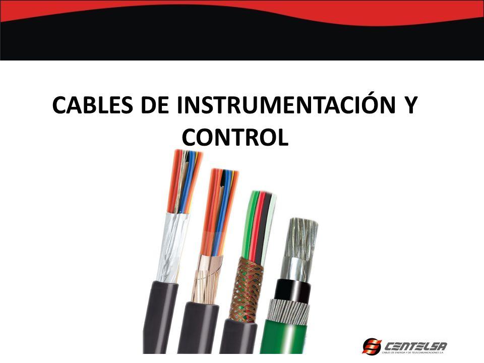 CABLES DE INSTRUMENTACIÓN Y CONTROL