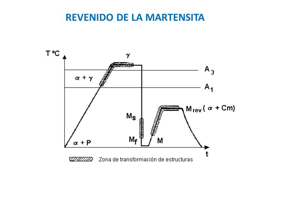 REVENIDO DE LA MARTENSITA