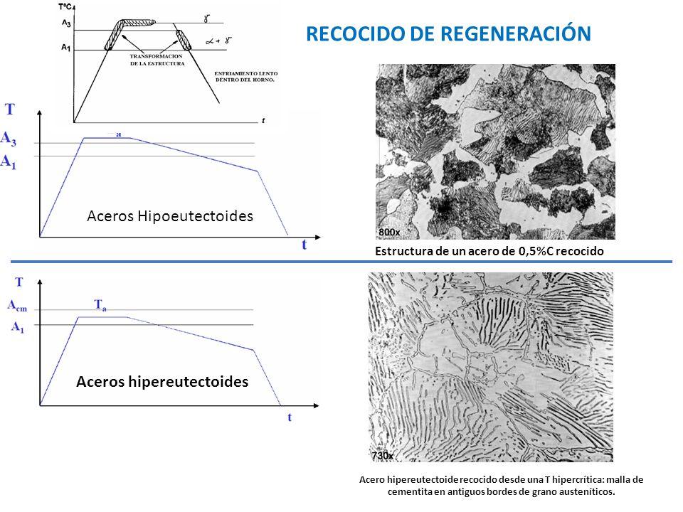 RECOCIDO DE REGENERACIÓN
