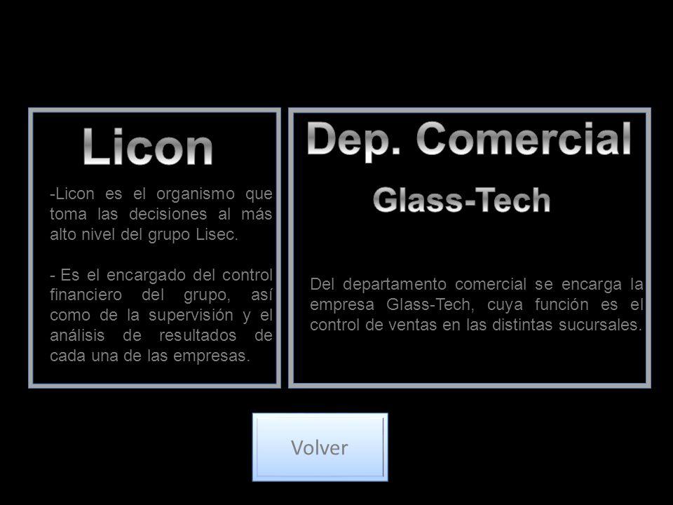 -Licon es el organismo que toma las decisiones al más alto nivel del grupo Lisec.