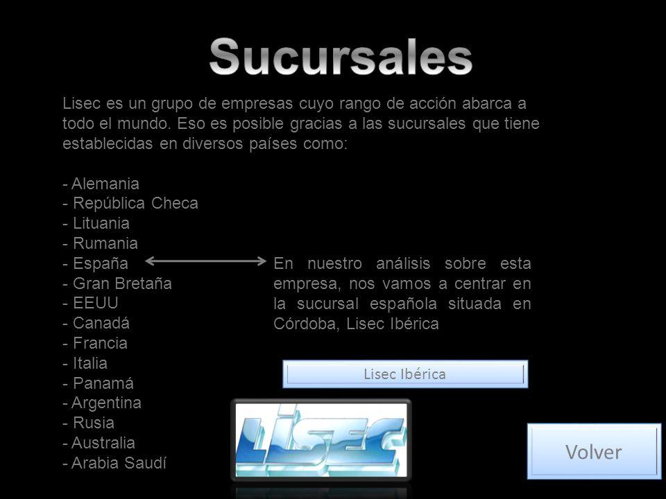 Lisec es un grupo de empresas cuyo rango de acción abarca a todo el mundo.