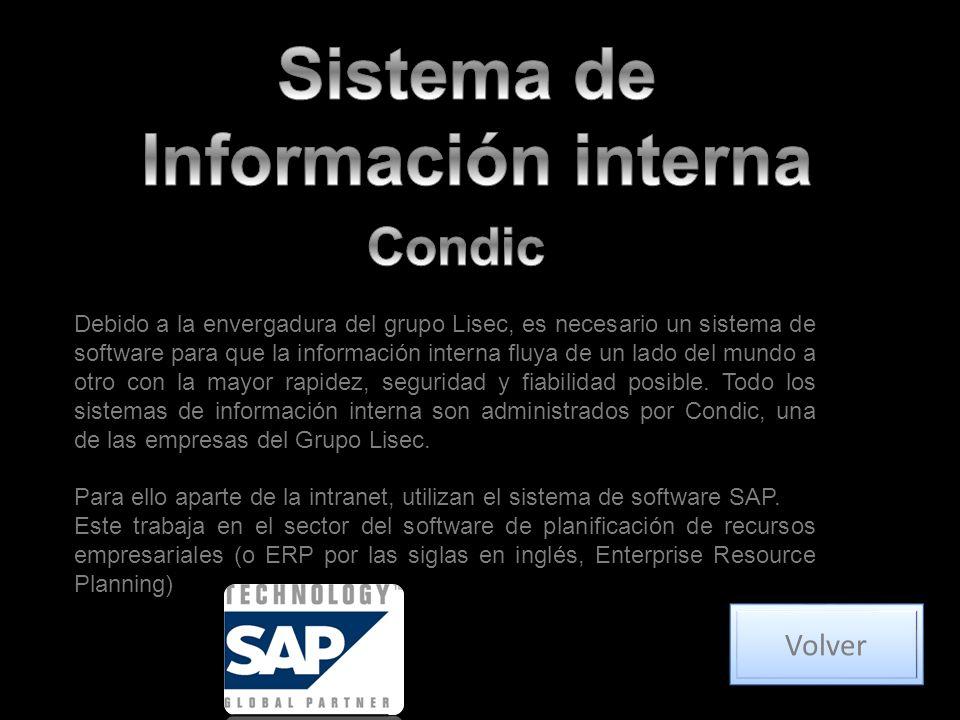 Debido a la envergadura del grupo Lisec, es necesario un sistema de software para que la información interna fluya de un lado del mundo a otro con la mayor rapidez, seguridad y fiabilidad posible.