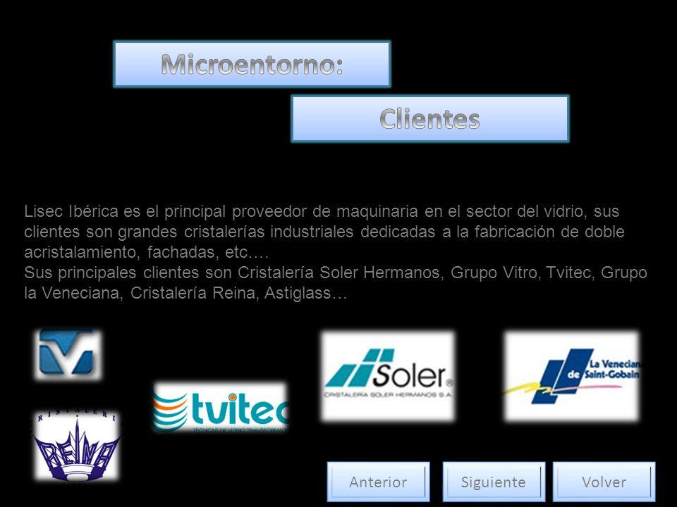 Lisec Ibérica es el principal proveedor de maquinaria en el sector del vidrio, sus clientes son grandes cristalerías industriales dedicadas a la fabri