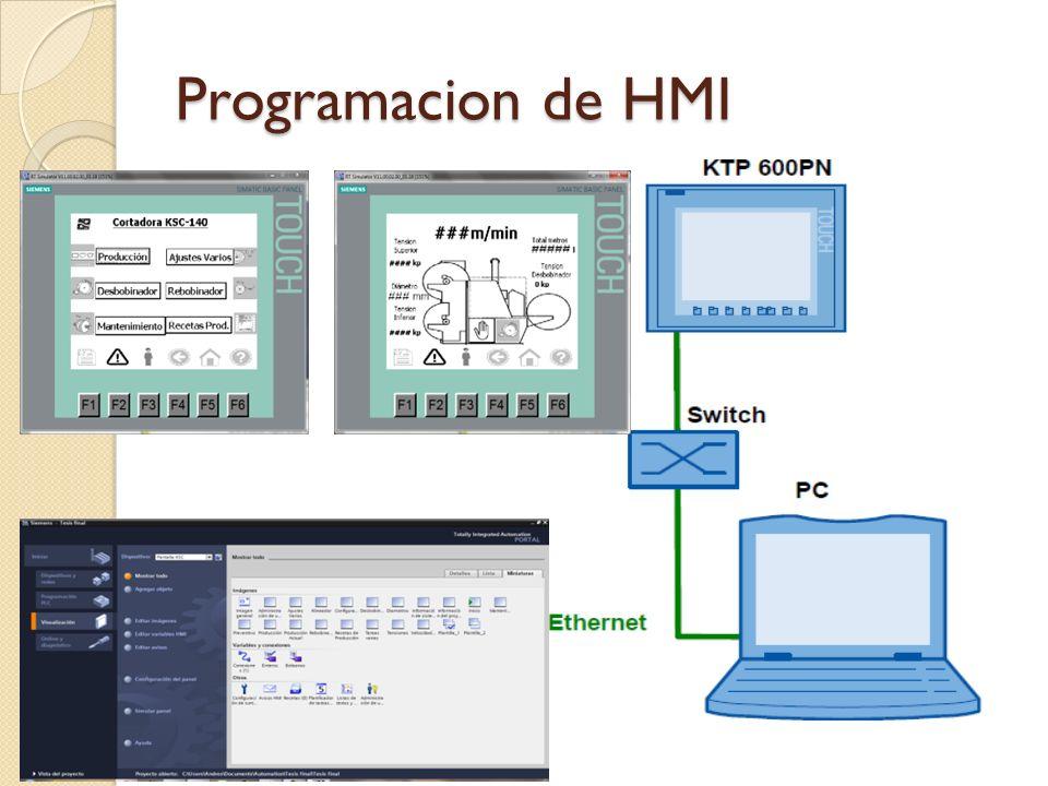Programacion de HMI