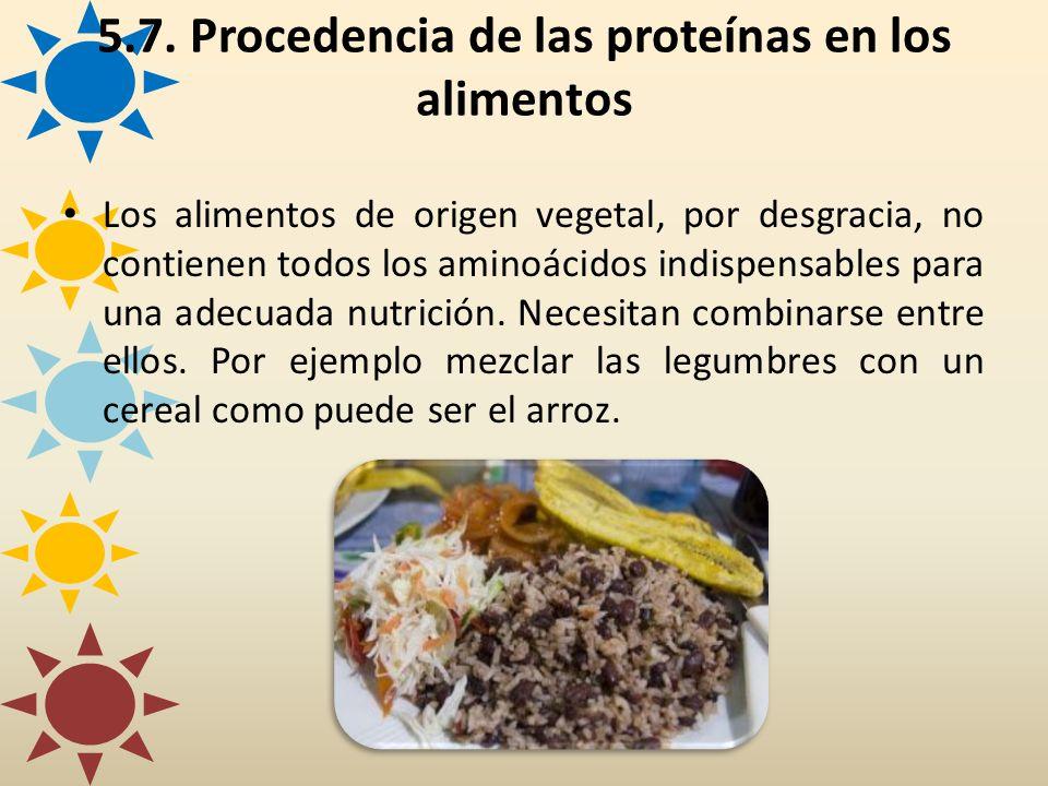 Los alimentos de origen vegetal, por desgracia, no contienen todos los aminoácidos indispensables para una adecuada nutrición. Necesitan combinarse en