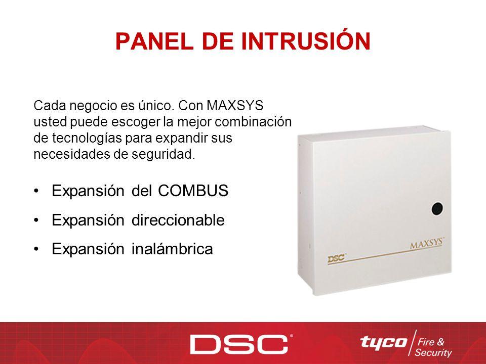 Normalmente el LED en los detectores de movimiento y en los detectores de ruptura de vidrio no se encienden cuando una alarma es detectada para reducir el consumo de corriente.