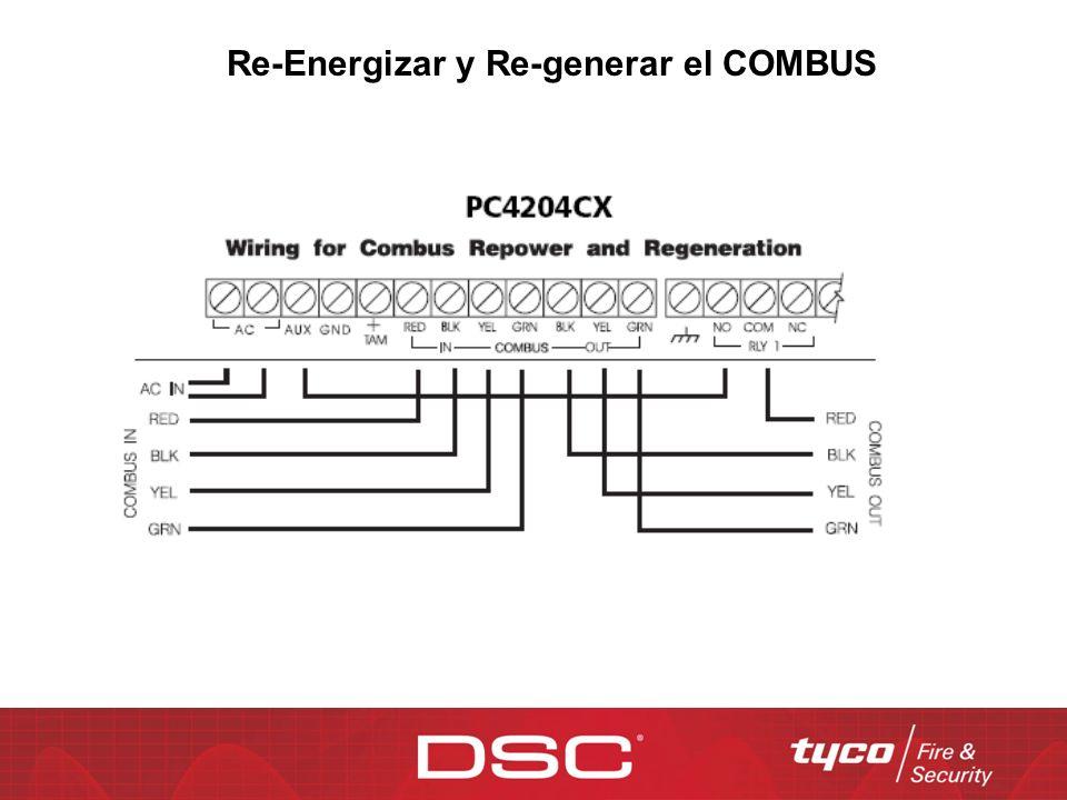 Re-Energizar y Re-generar el COMBUS