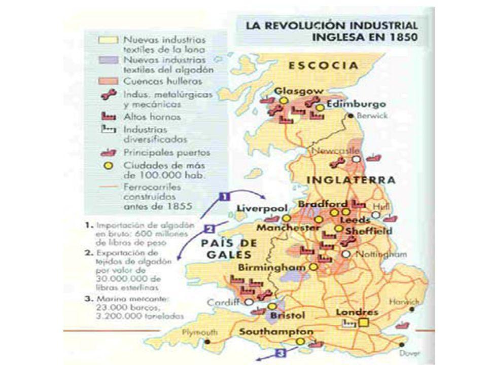 LA INDUSTRIA ALGODONERA: ÍCONO DE LA REVOLUCIÓN La manufactura del algodón fue un típico producto secundario derivado de la dinámica corriente de comercio internacional, sobre todo colonial, sin la que, como hemos visto, la Revolución industrial no puede explicarse.