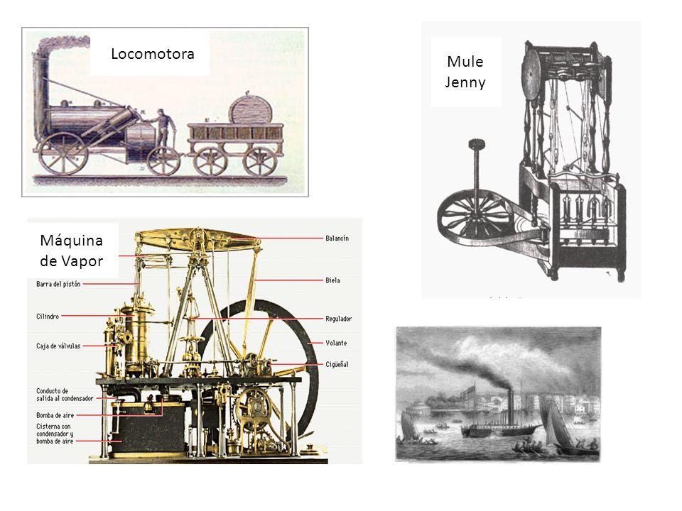 llLocomotora Máquina de Vapor Mule Jenny