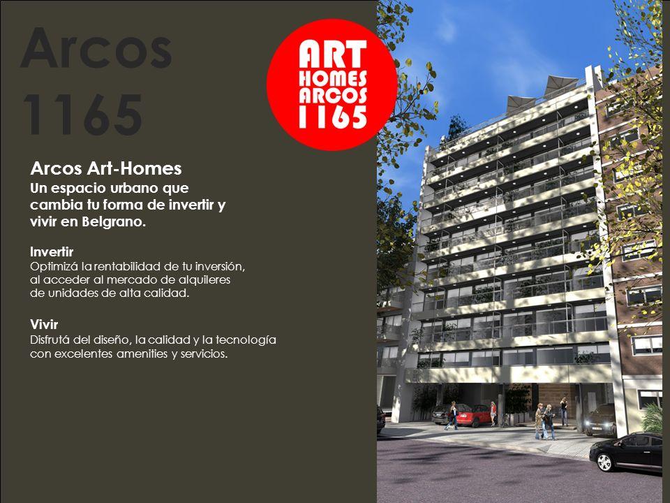 Arcos Art Homes, la mejor ubicación.