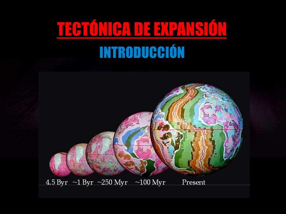 TECTÓNICA DE EXPANSIÓN INTRODUCCIÓN