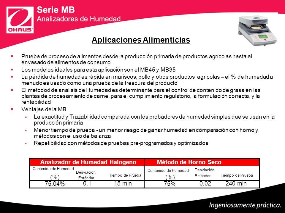 Procesamiento de Pulpa y Papel Determinar el contenido de humedad durante el preproceso de papel / fases del proceso en la fábrica (molino) de papel Los modelos ideales para esta aplicación son MB23 (pre) MB45 (proceso) Equipos de prueba basicos incluyen medidores de mano (pre) horno (proceso).
