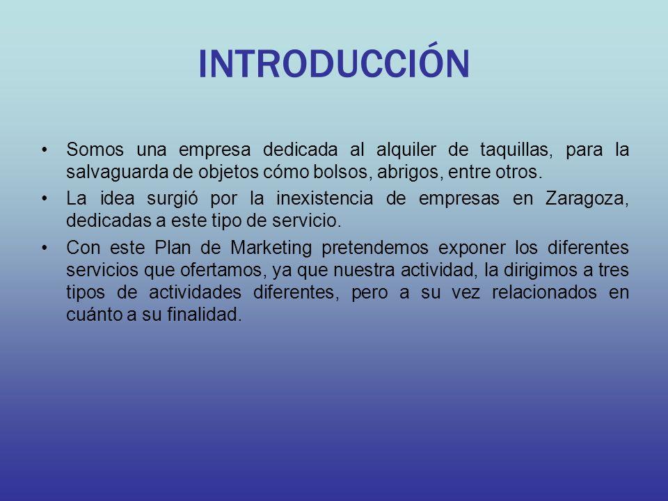 LOCALIZACIÓN Nuestra empresa estará situada en tres localizaciones distintas, dependiendo de la actividad.