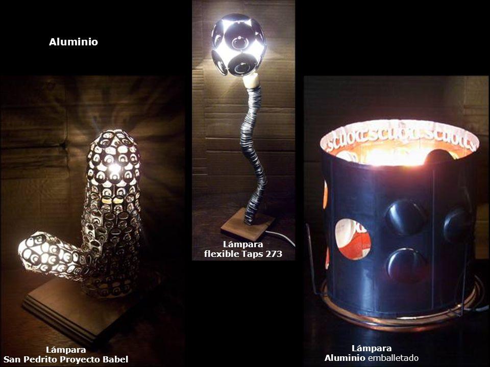 Lámpara San Pedrito Proyecto Babel Lámpara flexible Taps 273 Lámpara Aluminio emballetado Aluminio