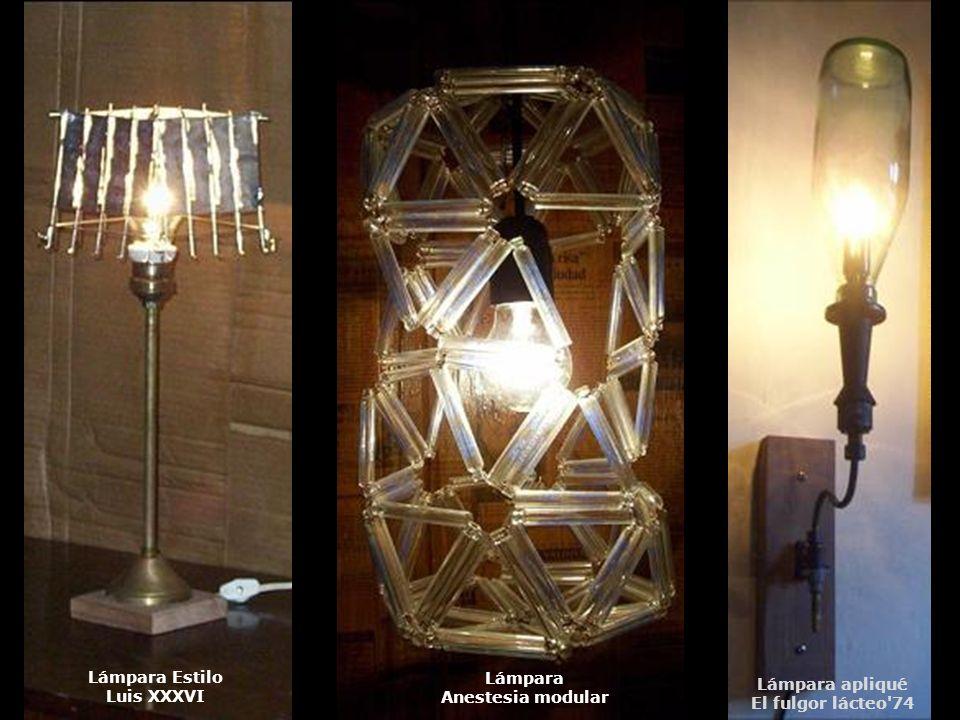 Lámpara Anestesia modular Lámpara Estilo Luis XXXVI Lámpara apliqué El fulgor lácteo'74
