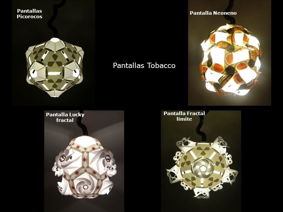 Pantallas Picorocos Pantalla Neoneno Pantalla Lucky fractal Pantalla Fractal límite Pantallas Tobacco