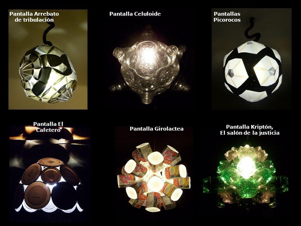 Pantalla Orbe 77Pantalla Trucha arcoíris Pantalla Van Ryssel Rex Pantalla PanópticaPantalla ZOOPantalla Partenogénesis fractal