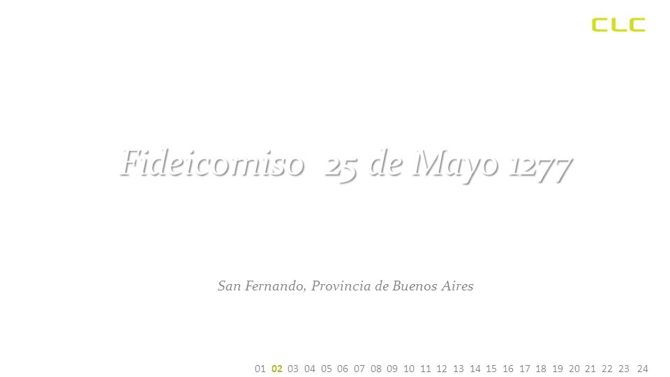Fideicomiso 25 de Mayo 1277 San Fernando, Provincia de Buenos Aires 01 02 03 04 05 06 07 08 09 10 11 12 13 14 15 16 17 18 19 20 21 22 23 24