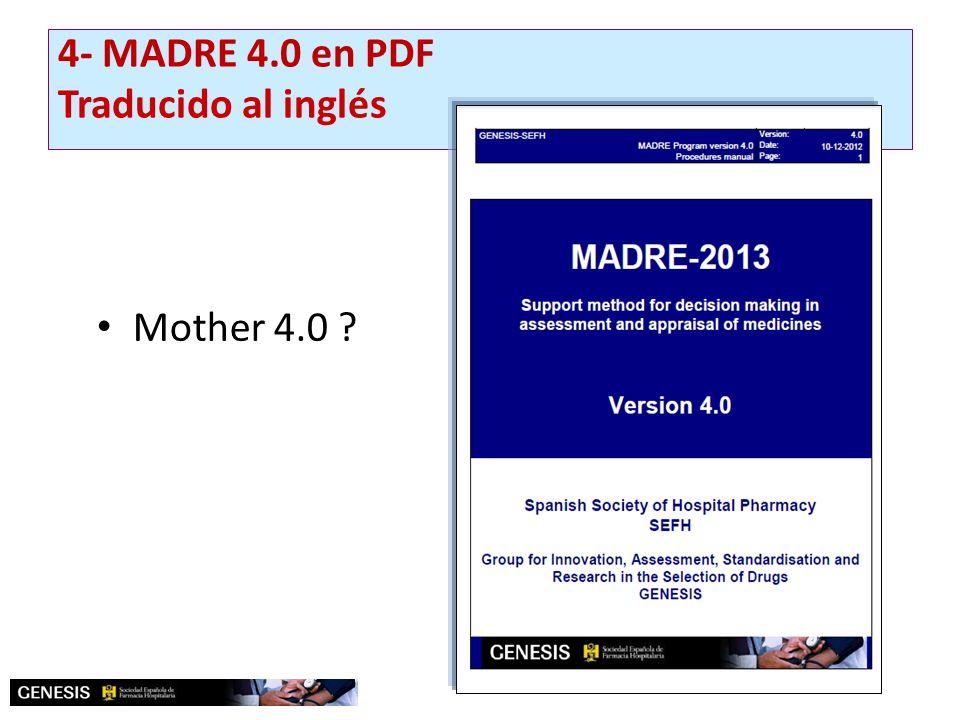 Mother 4.0 ? 4- MADRE 4.0 en PDF Traducido al inglés