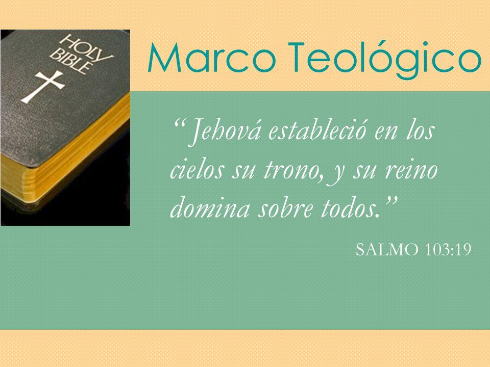 Marco Teológico Y cuando terminó Jesús estas palabras, la gente se admiraba; porque les enseñaba como quien tiene autoridad...