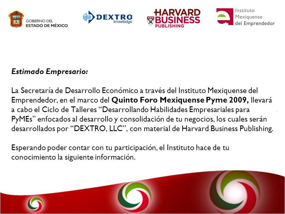 DEXTRO, LLC.- Creado en 1983, a través de un grupo selecto de expertos.