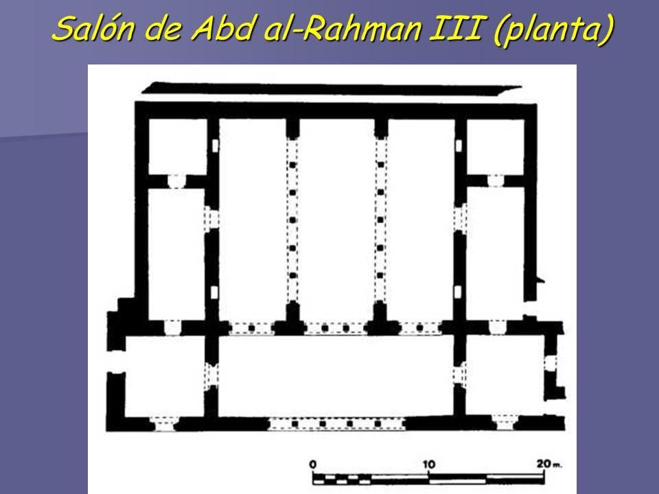 Salón de Abd al-Rahman III (planta)