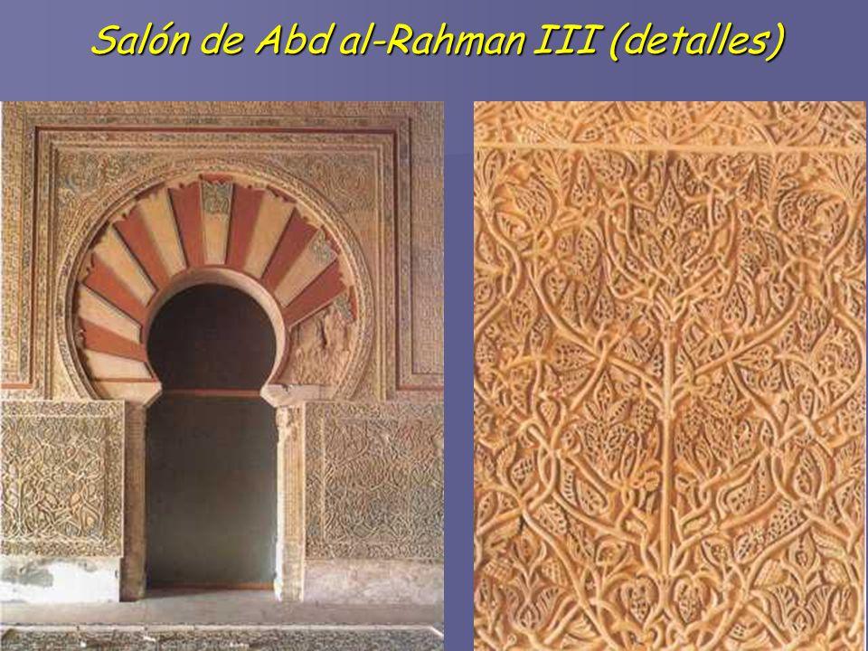 Salón de Abd al-Rahman III (detalles)