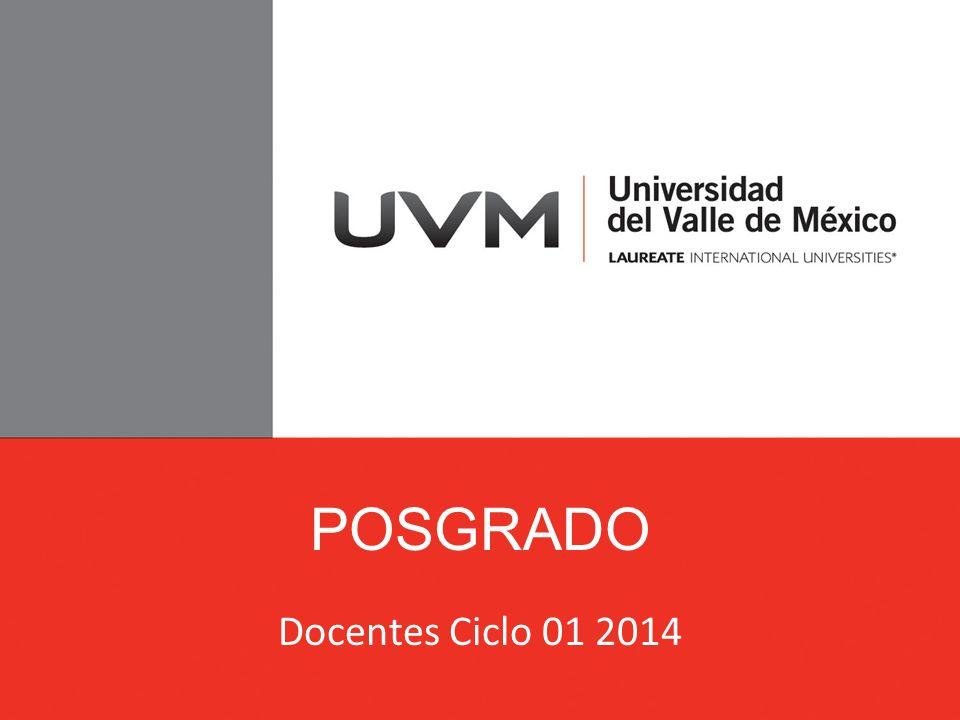 POSGRADO Docentes Ciclo 01 2014