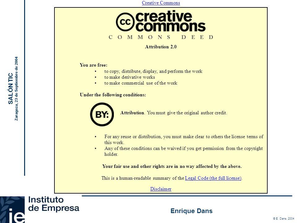 Tecnología y PYMES : Elementos de una ecuación compleja Enrique Dans http://www.enriquedans.com