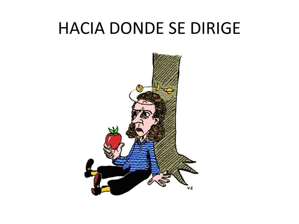 HACIA DONDE SE DIRIGE