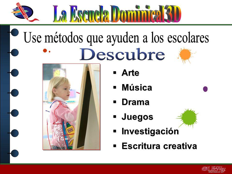 Arte Música Drama Juegos Investigación Escritura creativa Arte Música Drama Juegos Investigación Escritura creativa
